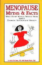 menopause myths and facts book cover